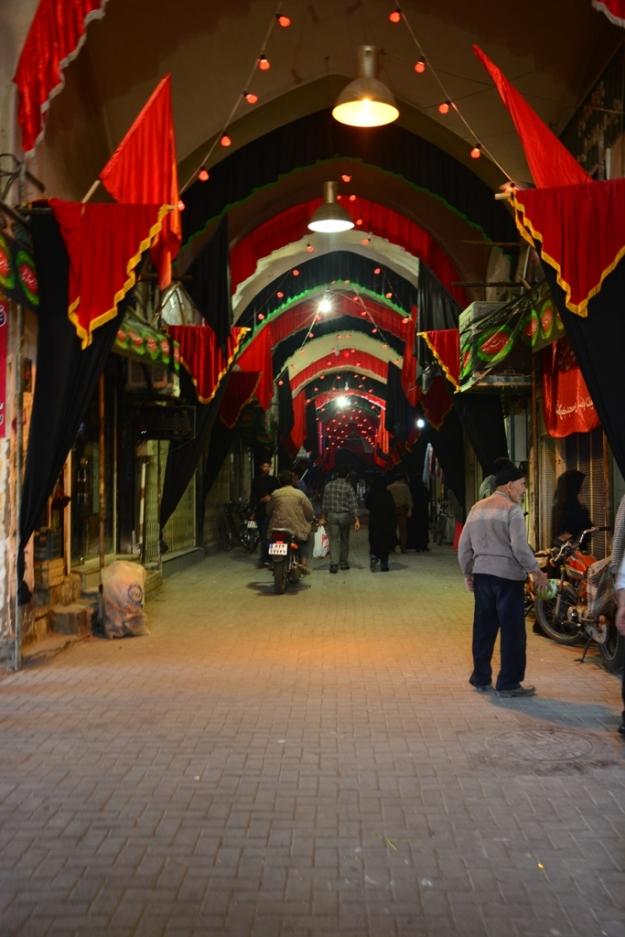 Kashanský bazar