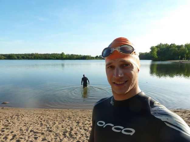 Koupaliště Jezero v Poděbradech s Milošem