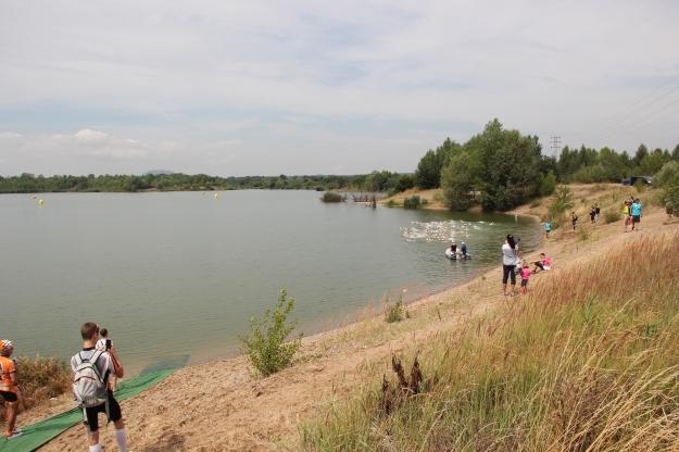 Start plavání Foto: Radim Š.