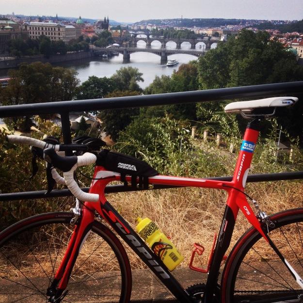 Pražský cyklokros den před závodem (sobota)