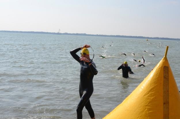 Z vody lezu spokojený s výkonem! Foto: Peťa