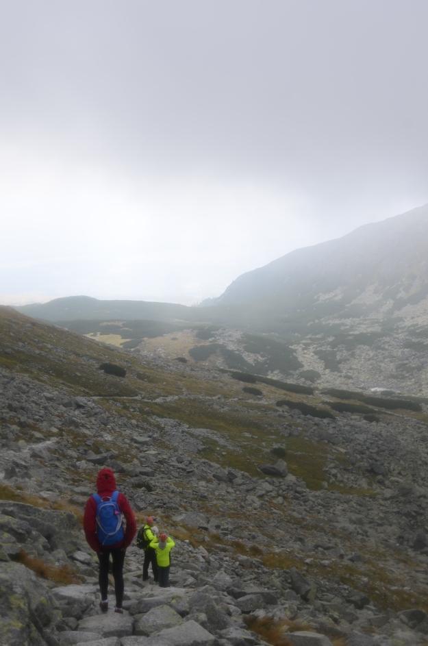 Sestup 2 Furkotská dolina