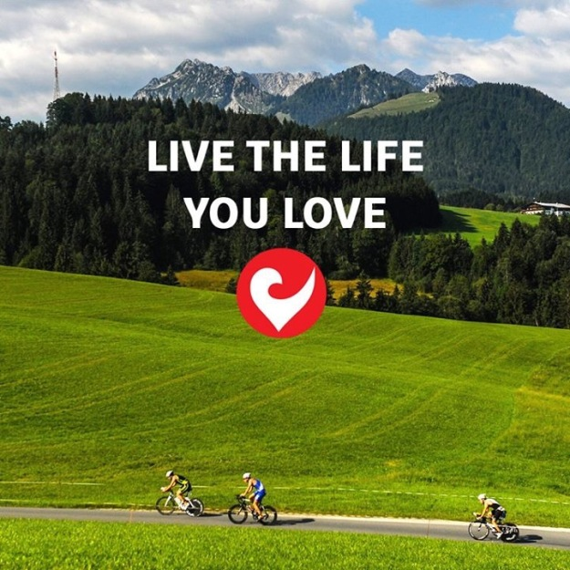 Live the life you love. Photo: Challenge Family