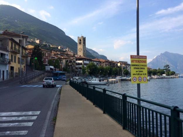 Triathlon ATTENZIONE! Hezká lokalita k závodu. Lago d'Iseo